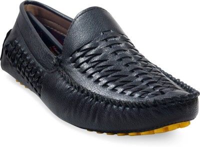 ADYBird Stunning Onyx Loafers For Men(Black)