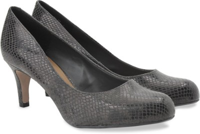 Clarks Arista Abe Dark Grey Syn Slip On shoes(Grey) at flipkart