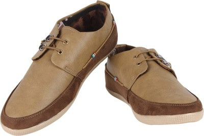 Buenos Basic Delight Casual Shoes For Men(Beige)  available at flipkart for Rs.499
