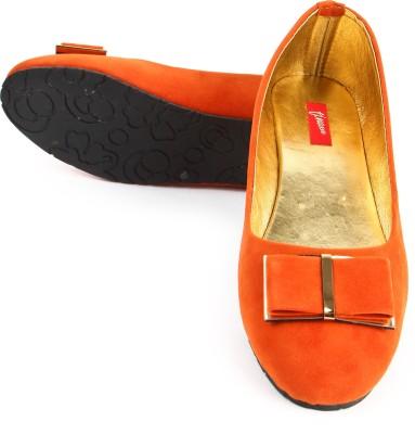 Finesse Flat Bellies For Women(Orange)