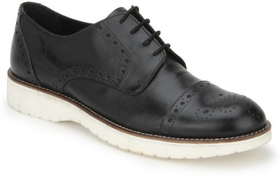 Arden Dennis Tc Brogue Party Wear Shoes For Men(Black)