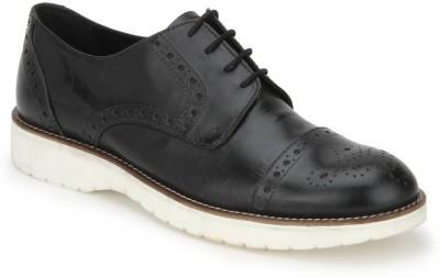 Arden Dennis Tc Brogue Party Wear Shoes For Men(Black)