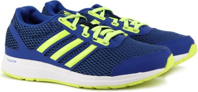 57% OFF on Adidas MANA BOUNCE J RUNNING For Men(Blue) on ... 33136ae87