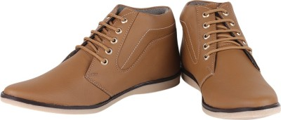 Buenos Simple Grace Casual Shoes For Men(Brown)  available at flipkart for Rs.499