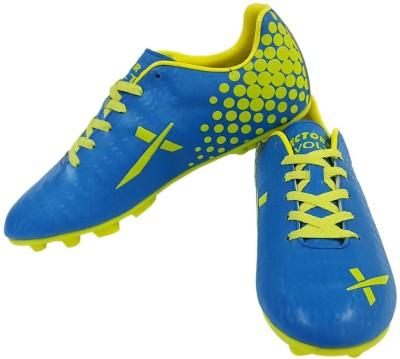 Vector X Volt Football Shoes For Men Green, Blue Vector X Sports Shoes