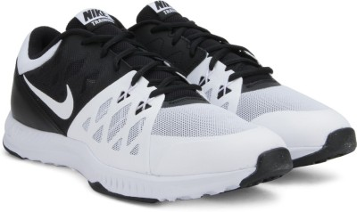 Nike AIR EPIC SPEED TR Training & Gym Shoes For Men(Black, White) 1