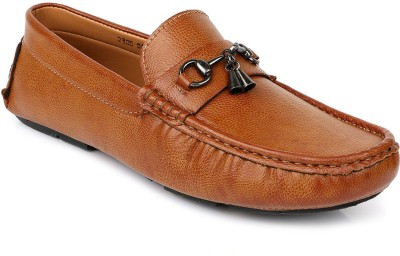 Escaro Casual Loafers, Driving Shoes, Boat Shoes(Tan) at flipkart
