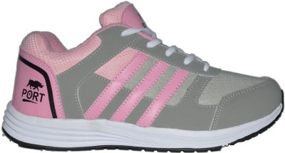 Port Women's Victory Pink Running Shoes For Women(Pink)