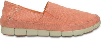 Crocs Loafers(Orange, Khaki) at flipkart