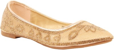 Foot Candy Bellies For Women(Gold