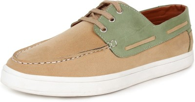 Tufli Corporate Casuals For Men(Tan, Olive)