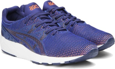 Asics TIGER GEL-KYN TRNR EV Sneakers(Blue, Orange) at flipkart