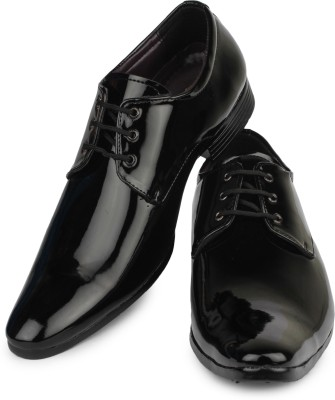 Do Bhai Derby For Men(Black) Flipkart