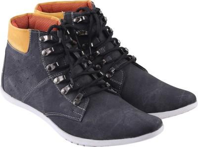 Go India Store Canvas Shoes For Men(Black)