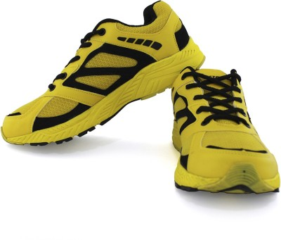 Vector X Sports Shoes For Men(Yellow, Black)  available at flipkart for Rs.1499