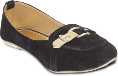 TEN Trendy Women Loafers For Women(Black)