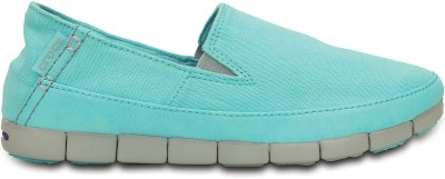 Crocs Loafers(Blue, Grey) at flipkart