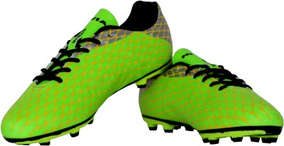 Nivia Ditmar-I Football Shoes For Men(Green, Silver)  available at flipkart for Rs.881