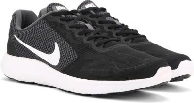Nike REVOLUTION Running Shoes For Men(Black) 1
