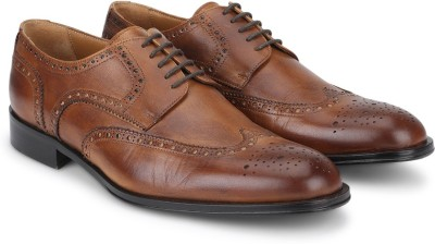 Kenneth Cole Lace Up For Men(Tan) at flipkart
