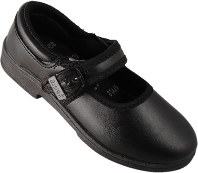 Action Black School Style Shoes SS08