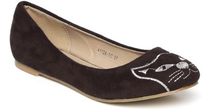 Dressberry Bellies(Brown) at flipkart