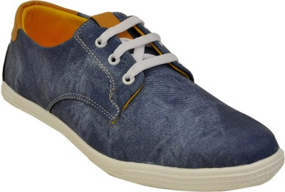 Adjoin Steps Durby-01 Casual Shoe(Blue)