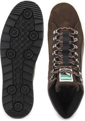 tout neuf bc979 78196 Puma Suede Mid Rugged ModHeritage Sneakers