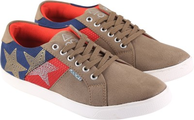 Go India Store Sneakers(Brown)