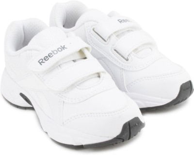 REEBOK Boys Lace Running Shoes White