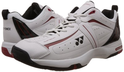 Yonex Tennis Shoes For Men(White, Black)  available at flipkart for Rs.2471
