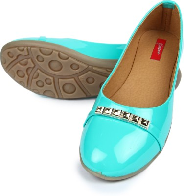 Finesse Flat Bellies(Green) at flipkart