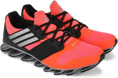 san francisco 30191 f9205 59% OFF on ADIDAS SPRINGBLADE SOLYCE Men Running Shoes For Men(Black, Pink)  on Flipkart   PaisaWapas.com