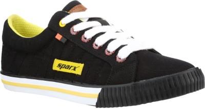 Sparx Stylish Black & Yellow Sneakers For Men(Black)