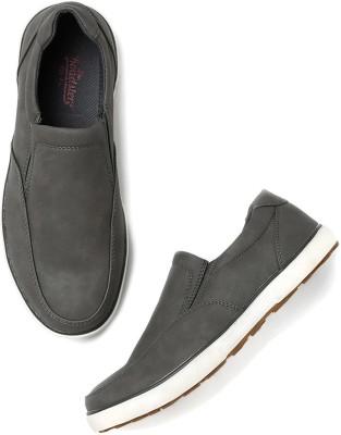 Roadster Sneakers For Men(Grey) at flipkart