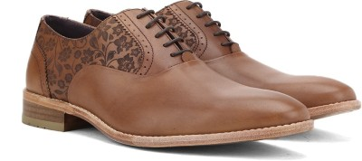 Luxure By Louis Philippe Coporate Casual shoes(Tan) at flipkart