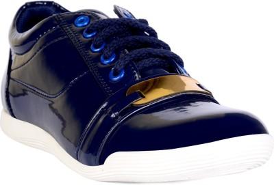 Sam Stefy Canvas Shoes For Women(Blue) at flipkart