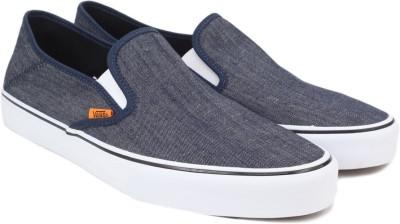 92b2791ccf 65% OFF on Vans Slip-On SF Loafers For Men(Navy) on Flipkart ...