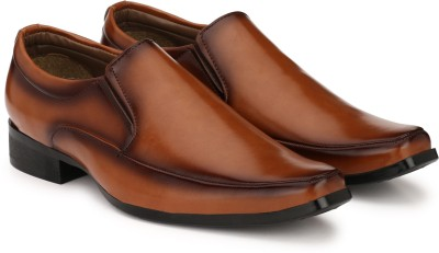 Sir Corbett Derek Slip On For Men(Tan) at flipkart