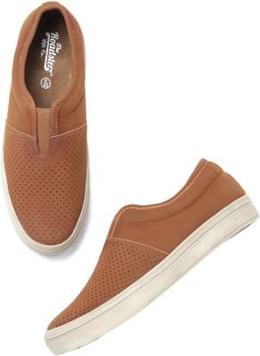 Roadster Sneakers For Men(Brown) at flipkart