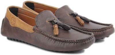 Airglobe Loafers For Men(Brown)