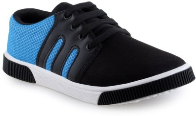 Gusto Canvas Shoes For Men(Black)