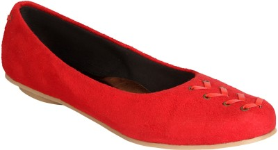Indulgence Stylish Bellies For Women(Red)