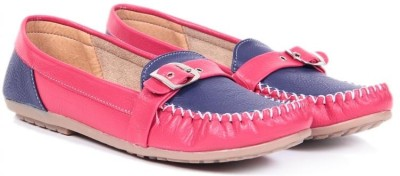 TEN Casual Red Blue Loafers For Women(Red, Blue)