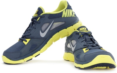 d6af670ce4e1 Nike 599558-400 Men Grey And Yellow Flex Supreme Tr 2 Sports Shoes- Price  in India