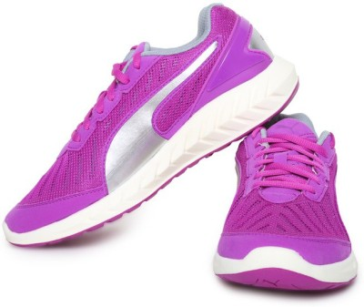 Puma IGNITEUltimateWn's Walking Shoes For Women(Purple, Silver) at flipkart