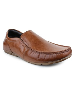 Red Tape Slip On For Men(Tan)