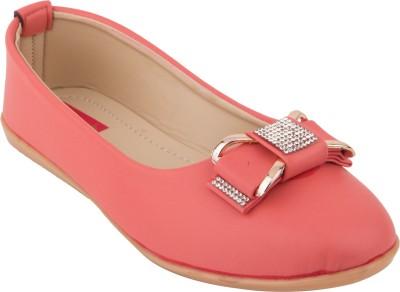 Footrendz Designer Bellies For Women(Pink)