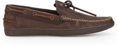 A by Arden Quody Boat Shoes For Men(Tan)