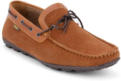 Froskie Boat Shoes For Men(Tan)